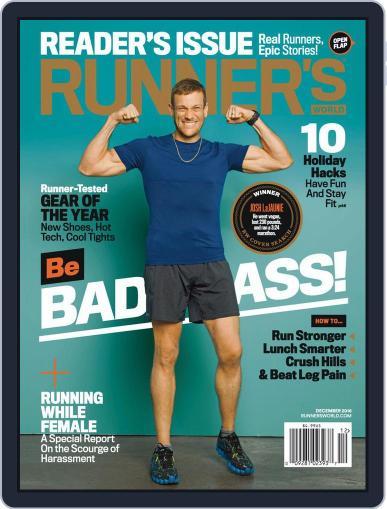Runner's World (Digital) December 1st, 2016 Issue Cover