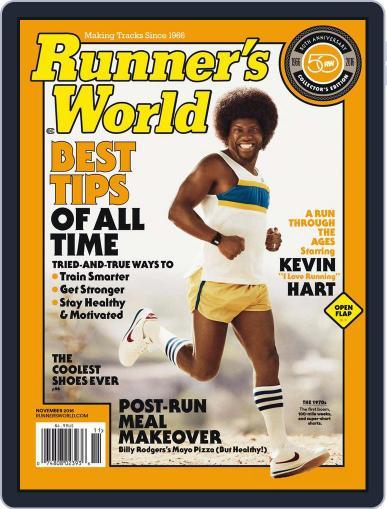Runner's World November 1st, 2016 Digital Back Issue Cover