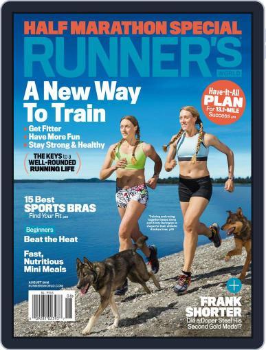 Runner's World (Digital) August 1st, 2016 Issue Cover