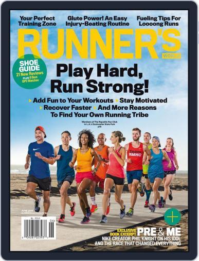 Runner's World June 1st, 2016 Digital Back Issue Cover