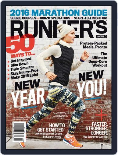 Runner's World (Digital) January 1st, 2016 Issue Cover