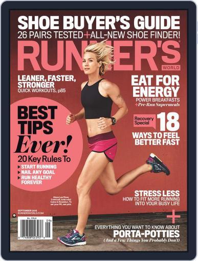 Runner's World (Digital) September 1st, 2015 Issue Cover