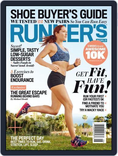 Runner's World June 1st, 2015 Digital Back Issue Cover