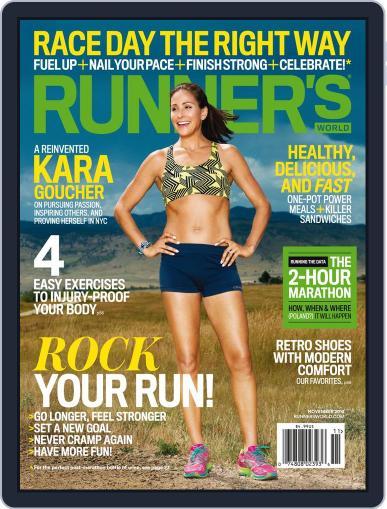 Runner's World November 1st, 2014 Digital Back Issue Cover