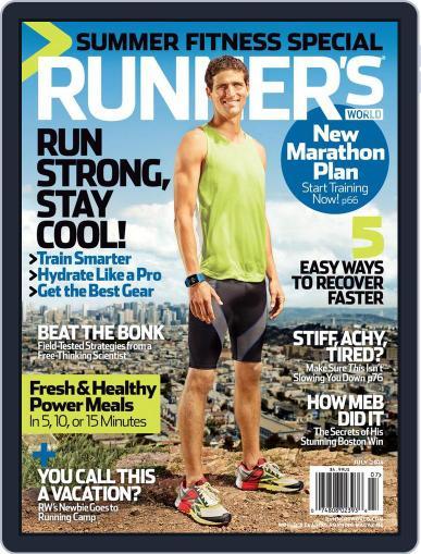 Runner's World (Digital) July 1st, 2014 Issue Cover