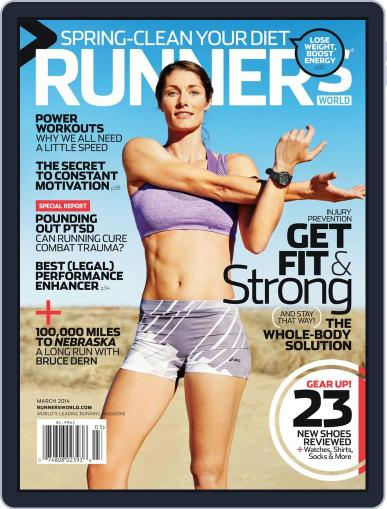 Runner's World (Digital) March 1st, 2014 Issue Cover