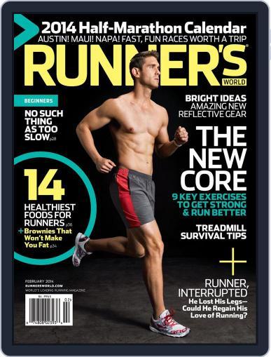 Runner's World February 1st, 2014 Digital Back Issue Cover