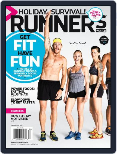 Runner's World December 1st, 2013 Digital Back Issue Cover