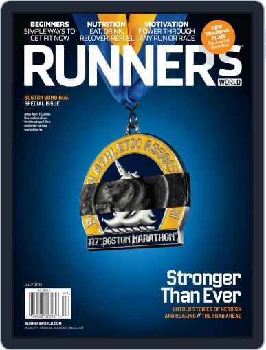 Runner's World July 1st, 2013 Digital Back Issue Cover