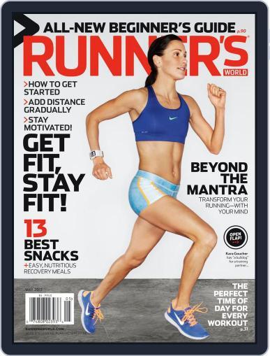 Runner's World May 1st, 2013 Digital Back Issue Cover