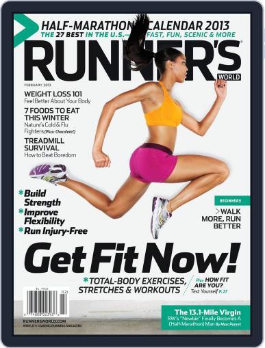 Runner's World (Digital) February 1st, 2013 Issue Cover