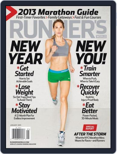 Runner's World (Digital) January 1st, 2013 Issue Cover