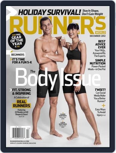 Runner's World (Digital) December 1st, 2012 Issue Cover