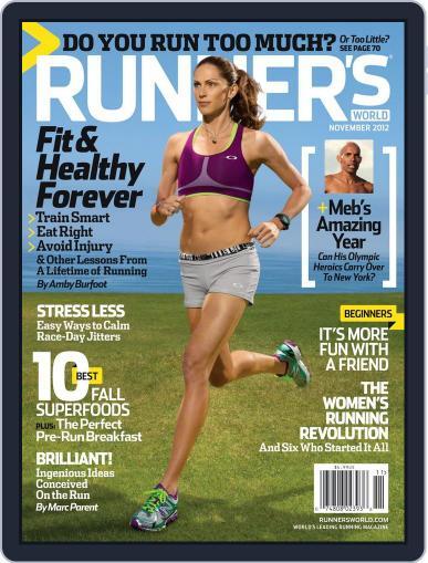 Runner's World (Digital) October 9th, 2012 Issue Cover