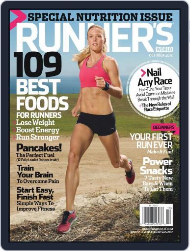 Runner's World September 4th, 2012 Digital Back Issue Cover