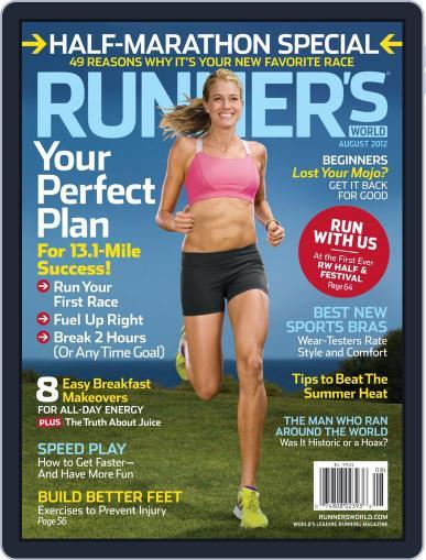Runner's World July 3rd, 2012 Digital Back Issue Cover