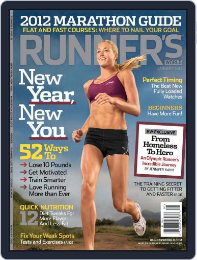 Runner's World (Digital) November 29th, 2011 Issue Cover