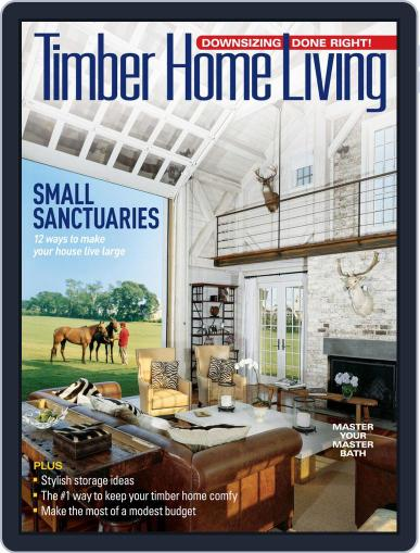 Timber Home Living (Digital) August 1st, 2019 Issue Cover