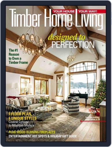 Timber Home Living (Digital) November 1st, 2018 Issue Cover