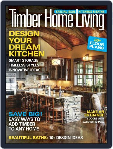Timber Home Living (Digital) April 5th, 2016 Issue Cover