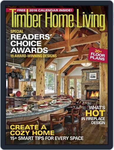 Timber Home Living (Digital) November 1st, 2015 Issue Cover