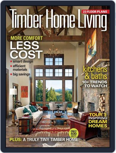 Timber Home Living (Digital) March 31st, 2015 Issue Cover