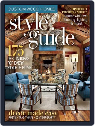 Timber Home Living November 1st, 2014 Digital Back Issue Cover