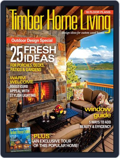 Timber Home Living (Digital) June 30th, 2014 Issue Cover