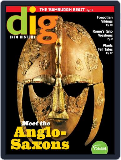 Dig History And Archaeology Magazine For Kids And Children (Digital) April 1st, 2019 Issue Cover