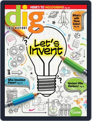 Dig History And Archaeology Magazine For Kids And Children (Digital) February 1st, 2019 Issue Cover