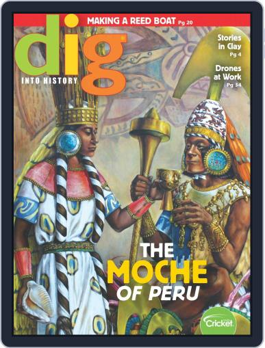 Dig History And Archaeology Magazine For Kids And Children (Digital) January 1st, 2019 Issue Cover