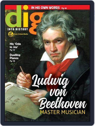 Dig History And Archaeology Magazine For Kids And Children (Digital) April 1st, 2018 Issue Cover