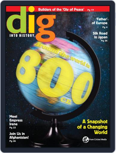 Dig History And Archaeology Magazine For Kids And Children (Digital) January 1st, 2018 Issue Cover