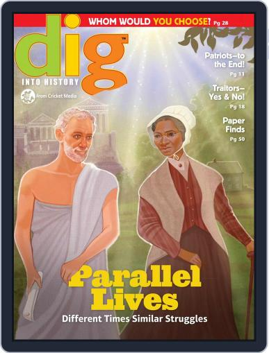 Dig History And Archaeology Magazine For Kids And Children (Digital) May 1st, 2017 Issue Cover