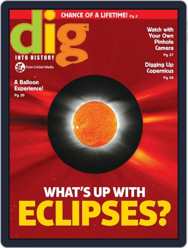 Dig History And Archaeology Magazine For Kids And Children (Digital) January 1st, 2017 Issue Cover