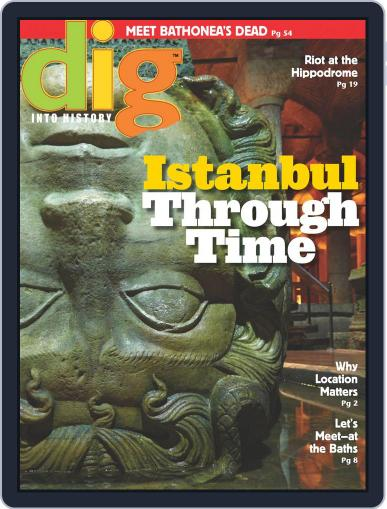 Dig History And Archaeology Magazine For Kids And Children (Digital) February 1st, 2016 Issue Cover