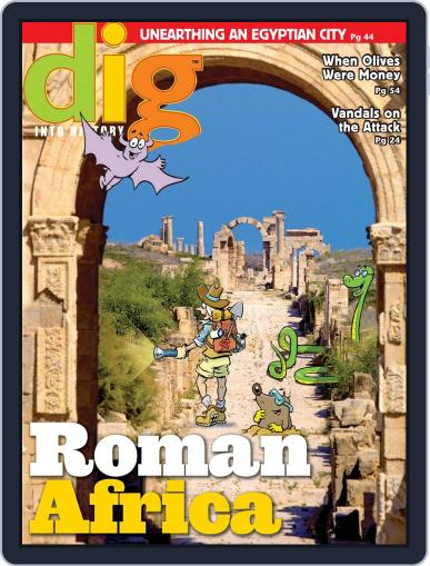 Dig History And Archaeology Magazine For Kids And Children (Digital) January 1st, 2016 Issue Cover