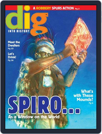 Dig History And Archaeology Magazine For Kids And Children (Digital) October 1st, 2015 Issue Cover