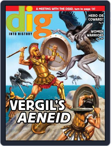 Dig History And Archaeology Magazine For Kids And Children (Digital) September 1st, 2015 Issue Cover