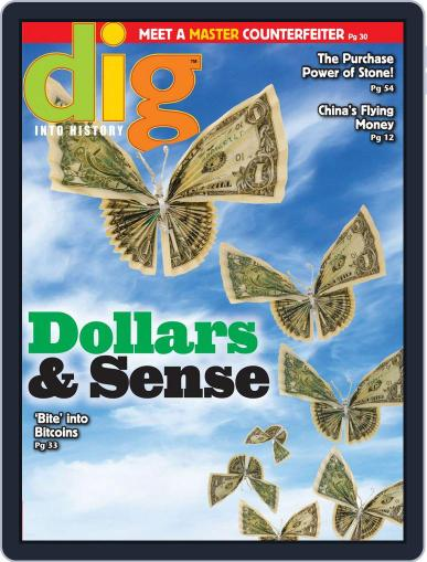 Dig History And Archaeology Magazine For Kids And Children (Digital) April 1st, 2015 Issue Cover