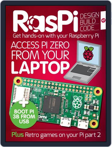 Raspi (Digital) May 1st, 2018 Issue Cover