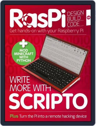 Raspi (Digital) February 1st, 2018 Issue Cover