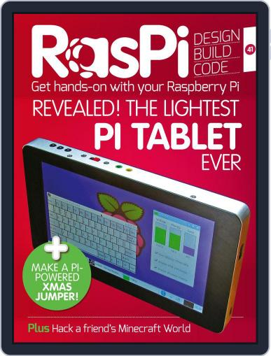 Raspi (Digital) November 30th, 2017 Issue Cover