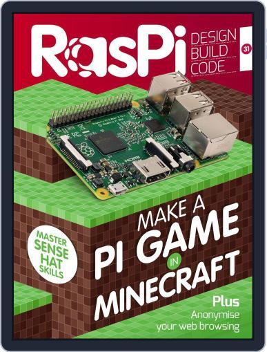 Raspi January 1st, 2017 Digital Back Issue Cover