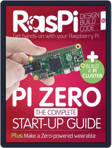 Raspi December 1st, 2016 Digital Back Issue Cover