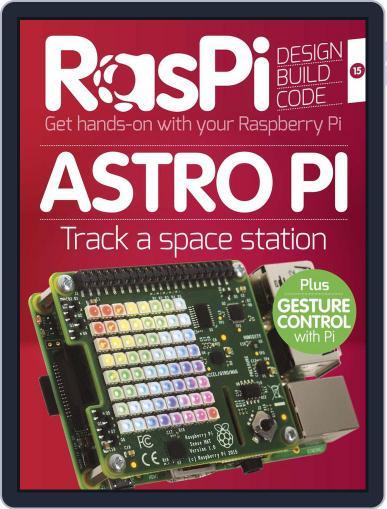 Raspi Magazine (Digital) August 31st, 2015 Issue Cover