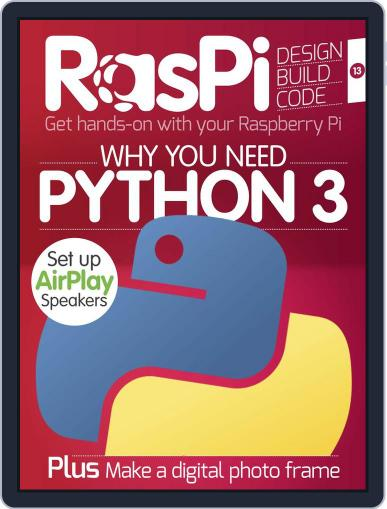Raspi Magazine (Digital) June 30th, 2015 Issue Cover