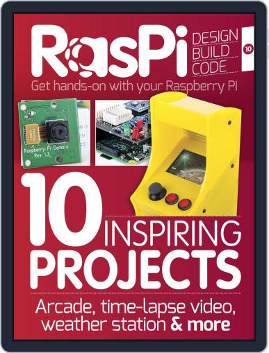 Raspi March 31st, 2015 Digital Back Issue Cover