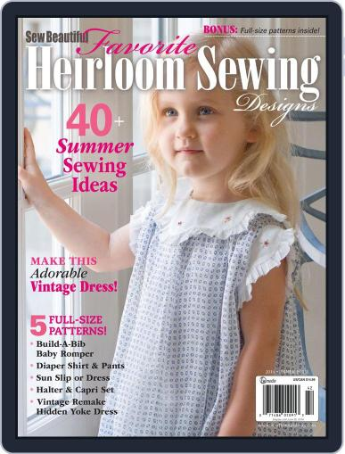 Sew Beautiful (Digital) April 3rd, 2014 Issue Cover