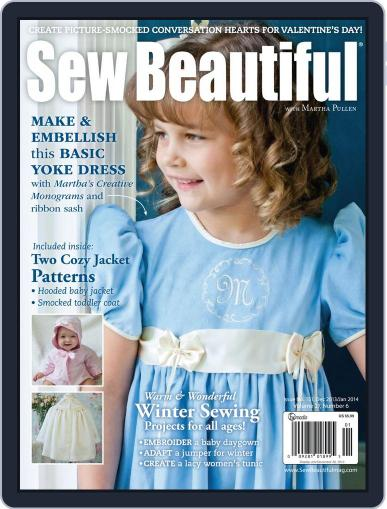 Sew Beautiful (Digital) November 5th, 2013 Issue Cover